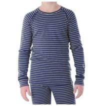 MERIWOOL Kids Unisex Long Sleeve Thermal Lightweight Merino Wool Base Layer Top