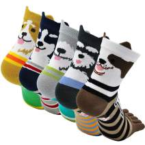 Women Toe Socks Comfy Low Cut Five Finger Sock Ankle for Ladies