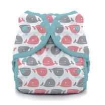 Swim Diaper- Whales Size One, Size One (6-18 lbs)