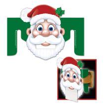 "Beistle 22339 Santa Toilet Paper Dispenser, 10.5"" x 14"""