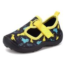 FANTURE Toddler Water Shoes Boys Girls Sandal Cute Aquatic Beach Swim Pool Water Park Aqua Sneakers Toddler & Little Kid
