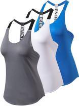 Yuerlian Womens Tank Tops Sports Vest Tops Yoga Tops Sleeveless Yoga Sports Tank Workout T-Shirt for Women