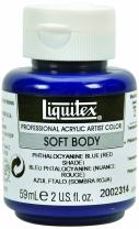 Liquitex Professional Soft Body Acrylic Paint 2-oz jar, Phthalocyanine Blue (Red Shade)