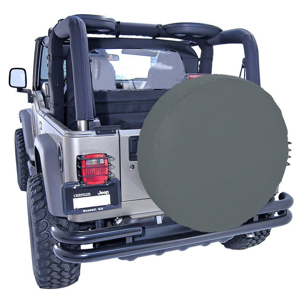 "Rugged Ridge 12802.15 Denim Black Tire Cover for 30"" to 32"" Tire Diameter"