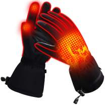 Heated Gloves for Men Women Electric Gloves Battery Heating Gloves Rechargeable