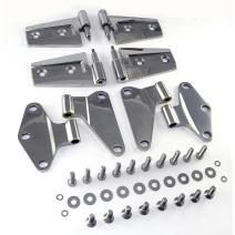 Rugged Ridge 11111.20 Stainless Steel Door Hinge Kit - 4 Pieces