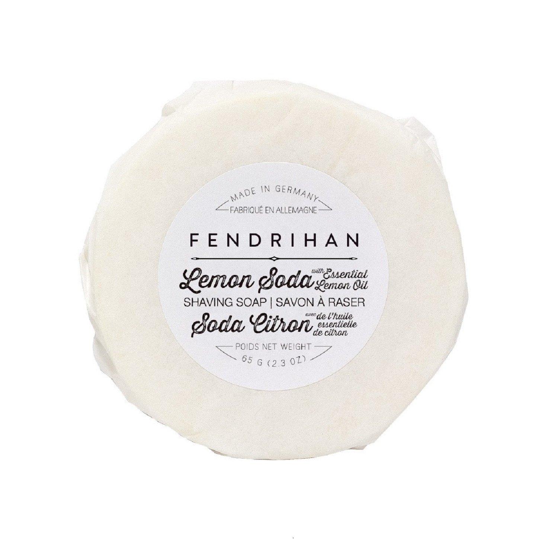 Fendrihan Shaving Soap for Men MADE IN GERMANY (Lemon Soda, 65 grams)