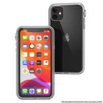 Catalyst - Case for iPhone 11 Case with Clear Back, Heavy Duty 10ft Drop Proof, Truss Cushioning System, Rotating Mute Switch Toggle, Compatible with Wireless Charging, Lanyard Included - Clear