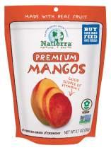 NATIERRA Premium Freeze-Dried Mango | Non-GMO & Vegan | 0.7 Ounce (Pack of 4)