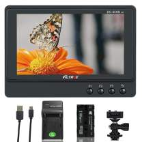 VILTROX DC-55HD 5.5-inch 4K HDMI Field Monitor, IPS 1920x1080 HDMI On Camera Video Monitor, Lightweight Monitor for DSLR/Mirrorless Camera (Includes NP-F550 Battery & Charger)