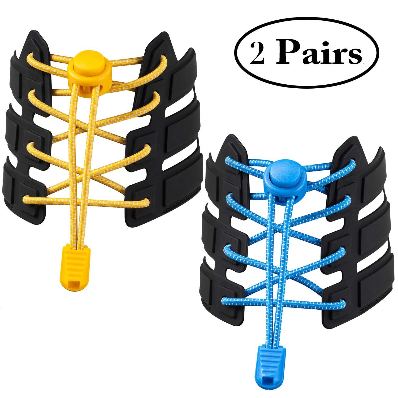 No Tie Shoelaces Elastic Shoe Laces
