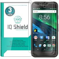 IQ Shield Glass Screen Protector Compatible with Google Pixel 5 inch (3-Pack)(Updated Version) Clear Tempered Ballistic Glass HD and Transparent Shatter-Proof Shield, 99% Touch Accuracy