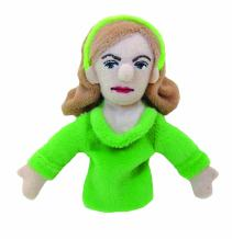 Sylvia Plath Finger Puppet and Refrigerator Magnet - For Kids and Adults