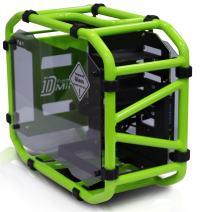 In Win Motorcycle Steel Tube Mini- ITX Computer Case D Frame Mini Green