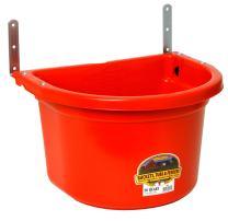 Little Giant Plastic Fence Feeder Heavy Duty Mountable Feed Bucket for Livestock & Pets