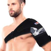 Shoulder Brace for Men and Women [2020 Version] Rotator Cuff - for Bursitis, Dislocated AC Joint, Labrum Tear, Tendonitis, Neoprene Compression Support Sleeve (Camouflage, L-XL)
