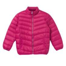 bossini Boys Fleece Sweatshirt Print Hoodie Jacket Multi-Functional Padded Warm Baseball Windbreaker Denim Hooded
