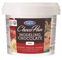 Satin Ice ChocoPan Red Modeling Chocolate, 5 Pounds