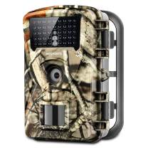 "Trail Game Camera, 1080P Waterproof Hunting Scouting Cam for Wildlife Monitoring with Night Vision 2.4"" LCD IR LEDs 88W"