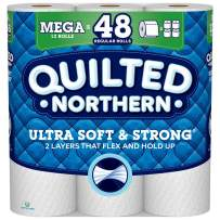 Quilted Northern Ultra Soft & Strong, Toilet Paper, 12 Mega Rolls