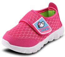 DADAWEN Baby's Boy's Girl's Breathable Mesh Lightweight Cute Casual Sneakers Athletic Walking Running Shoes