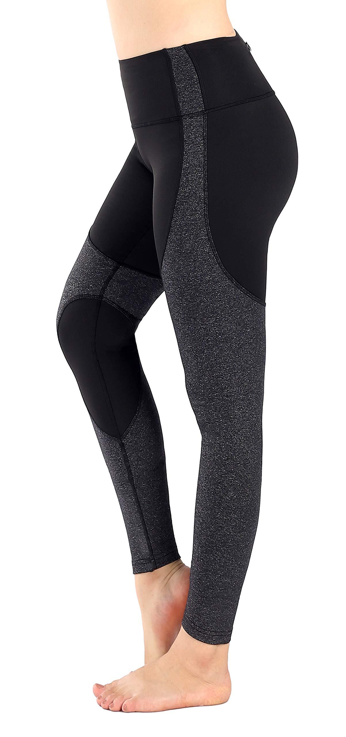 Munvot Women's Active Yoga Pants Workout Tights Running Yoga Leggings