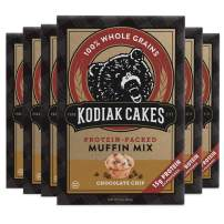 Kodiak Cakes Muffin Mix, Chocolate Chip (Pack of 6)