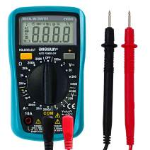 ALLOSUN Digital Multimeter Automotive Multimeter Thermometer 1999 counts AC DC Voltage DC Current ohm Tester With Backlight (EM3302)