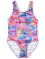 Girls Bathing Suits Unicorn One Piece Rainbow Mermaid Bathing Suit for Kids Flamingo Swimwear