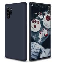 "abitku Galaxy Note 10 Plus Case Silicone, Slim Soft Liquid Gel Rubber Shockproof Microfiber Cloth Lining Cushion Compatible with Samsung Galaxy Note 10 Plus/5G 6.8"""