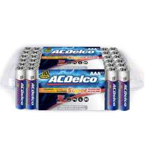 ACDelco AAA Batteries, Alkaline Battery, 60 Count