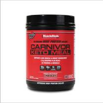 MuscleMeds Carnivor Keto Meal Replacement with Beef Protein & Mct, Promotes Lean Muscle, Weight Loss, 23.57 Oz