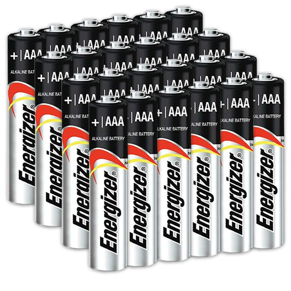 24 Count Energizer AAA Batteries, Triple A Battery Max Alkaline, Long Lasting, Leak Resistant, The Perfect Choice of Power for All AAA Battery Operated Devices