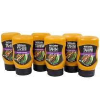 Wild Garden Easy Squeeze, Smoked Paprika Tahini, Great on chicken, fish, veggies, sandwiches, salads, and more! 9.9 oz Pack of 6