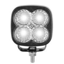 LED Driving Light from AutoSonic RevLite for Truck Pickup Jeep SUV ATV UTV, Flood Beam Heavy Duty Waterproof, Dustproof, Aluminum Construction.