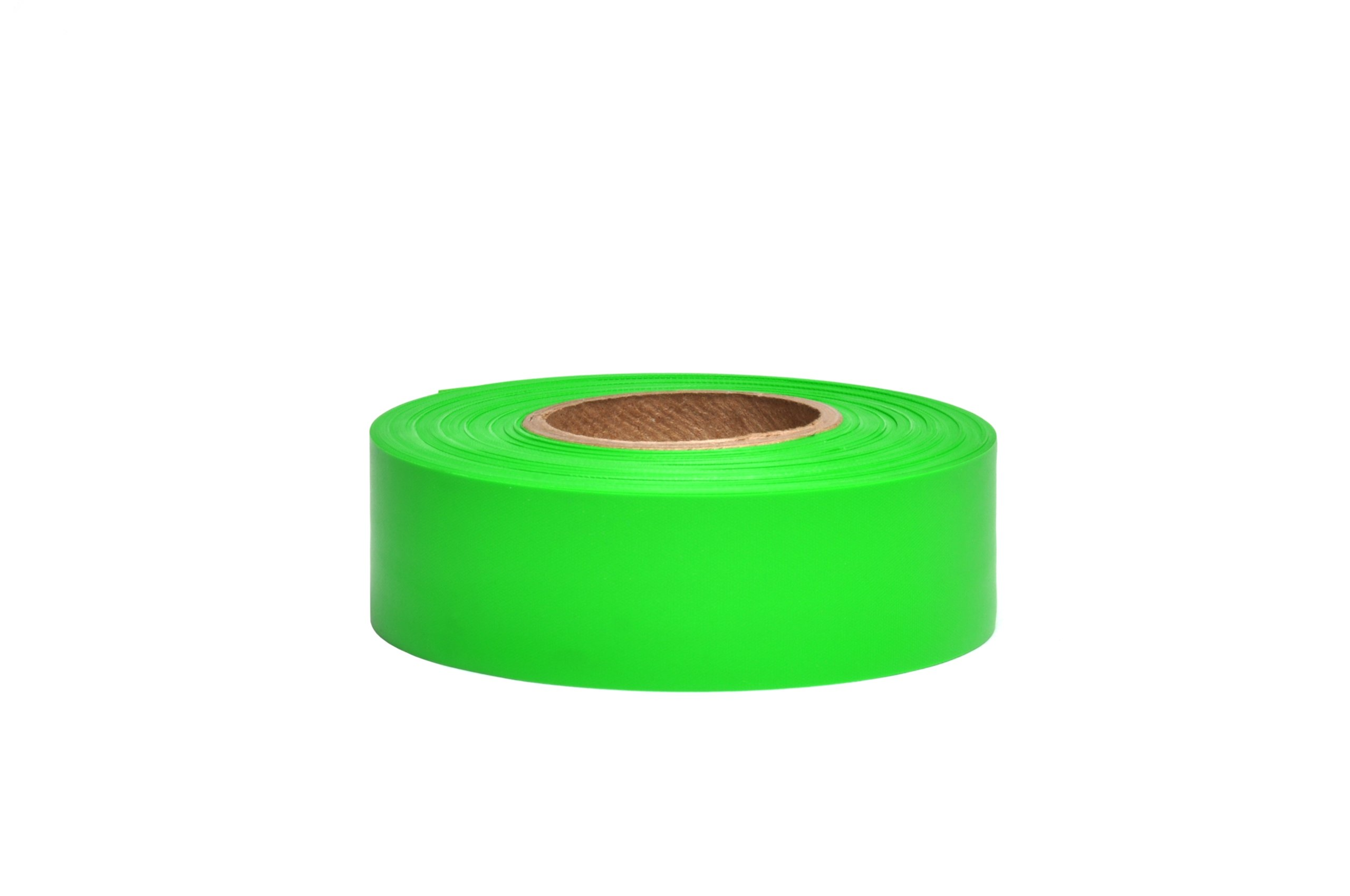 Swanson Tool Co Green Glo 1 3/16 Inch x 300 Foot Taffeta Safety Roll Flagging, Model # RFTG300
