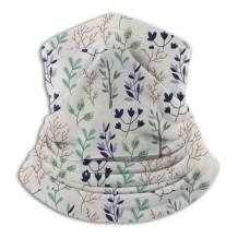 Flower Non Slip Seamless Dust Men & Women Face Mask For Outdoor Sports Neck Gaiter Cover Scarf Bandana Balaclava