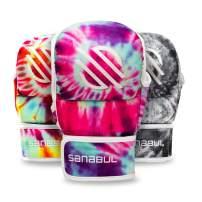 Sanabul Funk Strike Tie Dye 7 oz MMA Hybrid Sparring Gloves