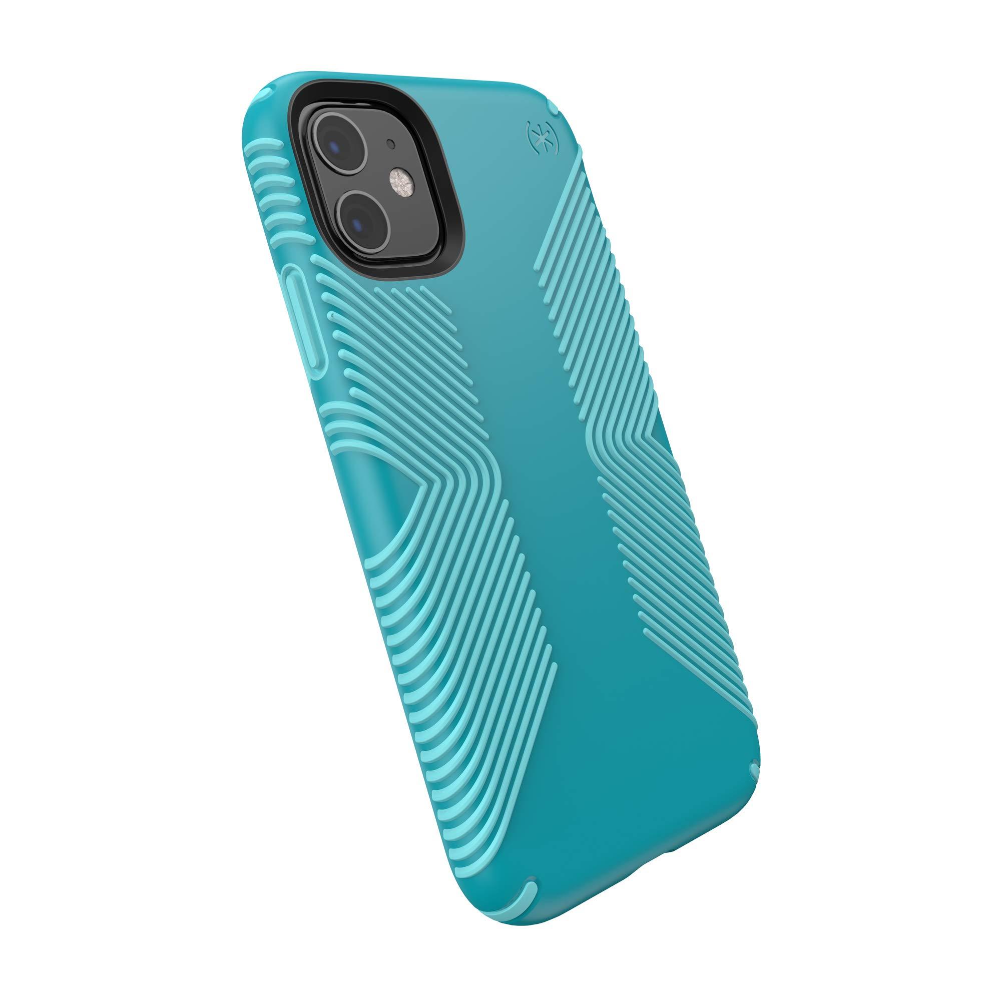 Speck Products Presidio Grip iPhone 11 Case, Bali Blue/Skyline Blue