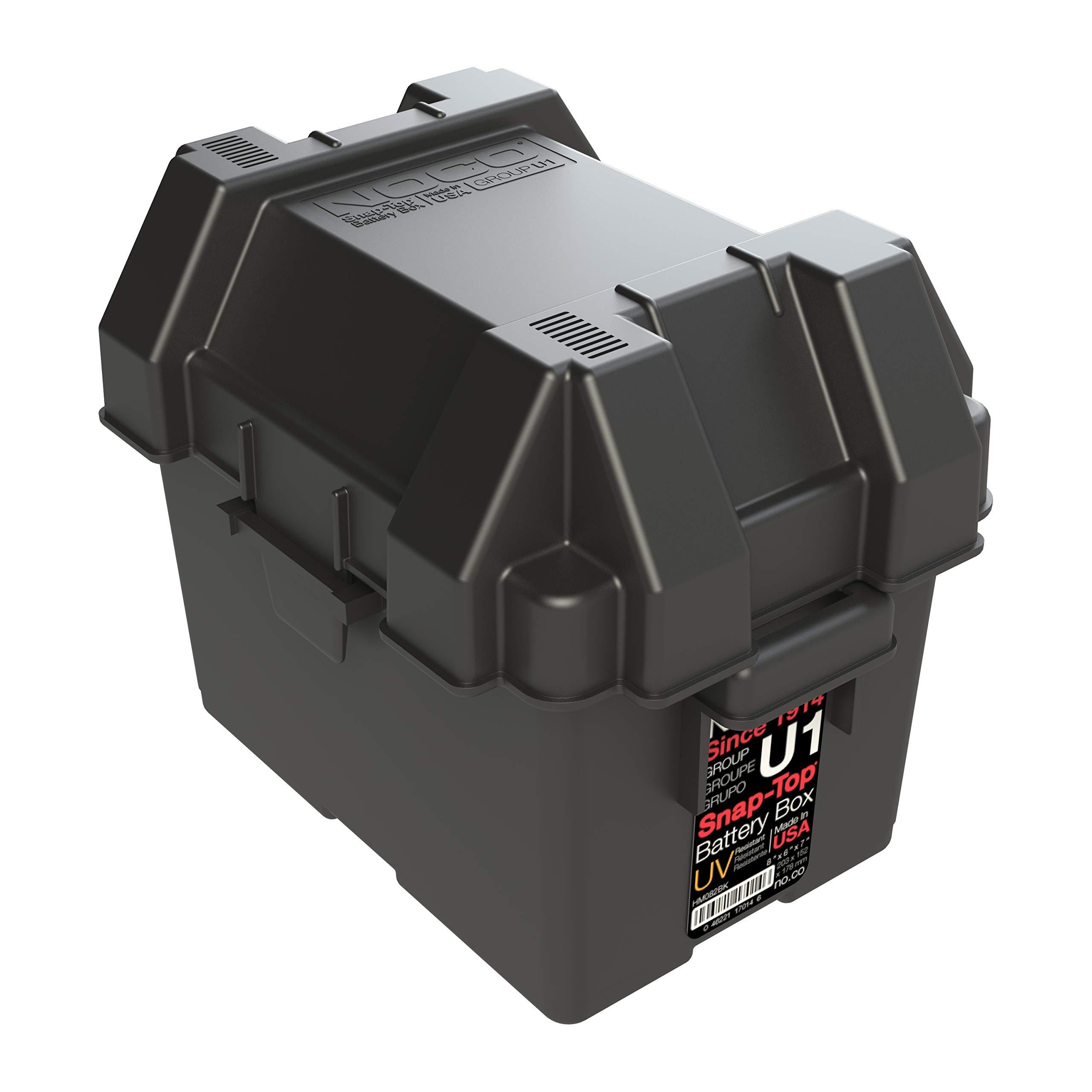 NOCO HM082BKS Group U1 Snap-Top Battery Box