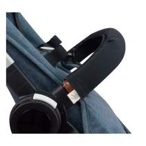 JANABEBE Covers Handle, Covers Railing for Stroller (Black Series, Regular)