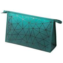 FYY Toiletry Bag, Lightweight Classic Travel Cosmetic Bag Waterproof Toiletries Kit Organizer with Zippered Large Green