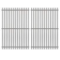 Hongso 7528 19.5 Inches #304 Stainless Steel Cooking Grill Grates Replacement for Weber Genesis E and S Series 300 E310 E320 S310 S320 Gas Grills, 2-Pack SCG528