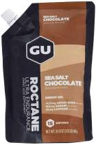GU Energy Roctane Ultra Endurance Energy Gel, 15-Serving Pouch, Sea Salt Chocolate