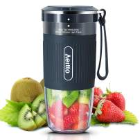 Portable Blender, Personal Blender Shakes and Smoothies Maker, Mini Blender, Juice Fruit Blender Bottle Cup With Rechargeable USB, BPA Free, 10oz for Home, Office, Sports, Travel, Outdoors