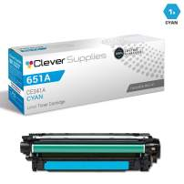 CS Compatible Toner Cartridge Replacement for HP Enterprise 700 MFP M775 CE341A Cyan HP 651A Color Laserjet MFP M775 Enterprise 700 MFP M775D M775DN M775F M775Z M775Z+