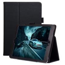 FANSONG New iPad 10.2 2019 Case, iPad Flip Leather Protective Cases with [Pen Holder] Stand [Auto Sleep/Wake up] Smart Cover for iPad 7th Generation 2019 Case, Black