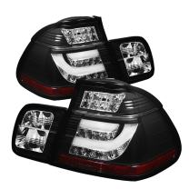 Spyder 5015938 BMW E46 3-Series 02-05 4Dr Light Bar Style LED Tail Lights - Black