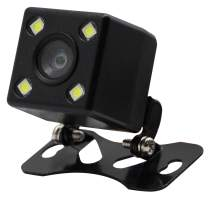 CERRXIAN Waterproof Car Backup Camera Universal Reverse Camera 170 Degree HD Rear View for Cars, Vehicles, Trucks, SUV, Van (4 LED)