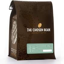The Chosen Bean Premium Coffee Roasters, Moses Dark Roast Whole Coffee Beans, Small Batch Roasted, Fair Trade and Certified Organic, Kosher for Passover 12 oz